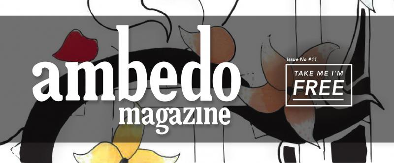 Yo Media team banner heading showing logo of latest Ambedo Magazine issue, number 11